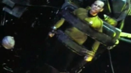 captain Pike, in a tight situation